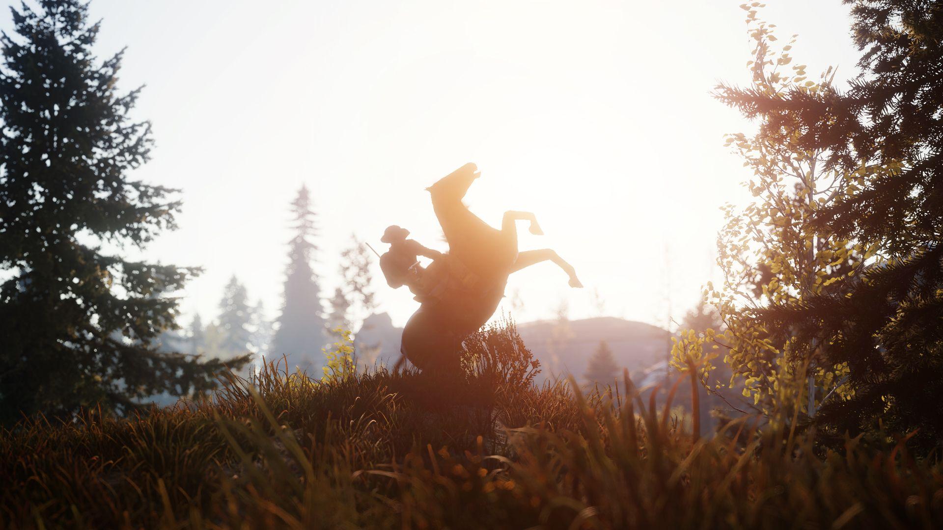 завораживала красивая картинка раста игры мифология