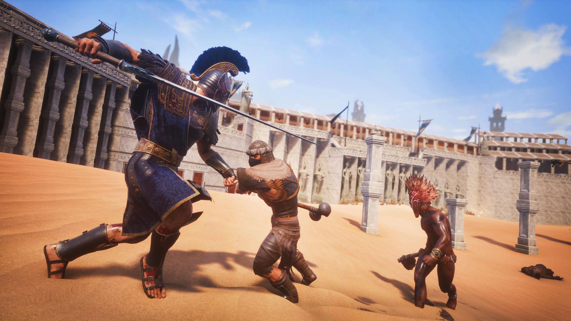 Оружие в Conan Exiles: Одноручные Булавы