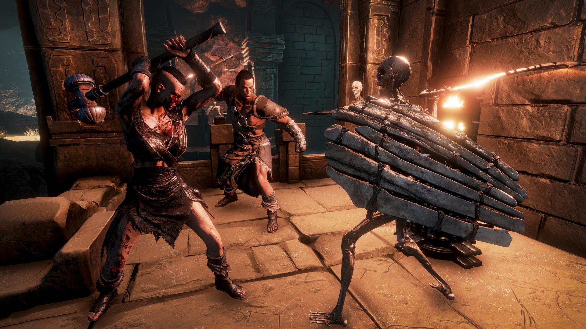 Оружие в Conan Exiles: Щиты