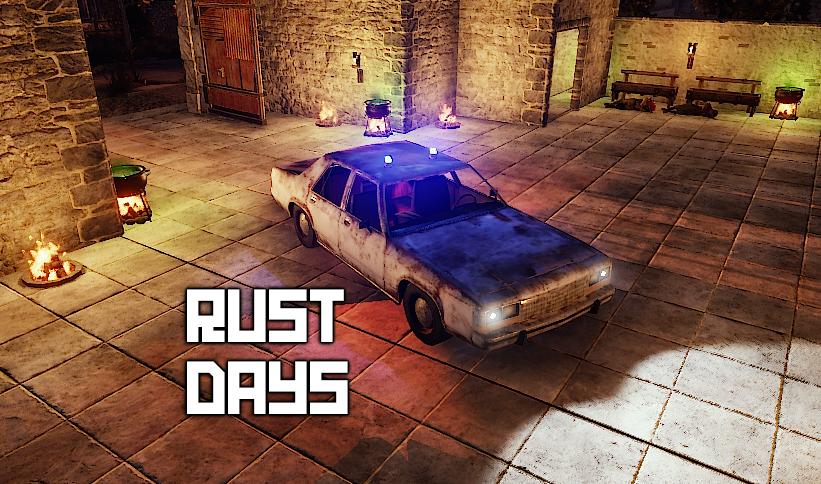 .:: RUST-DAYS : PVE : X1-X5   RPG   ZOMBIE ::.