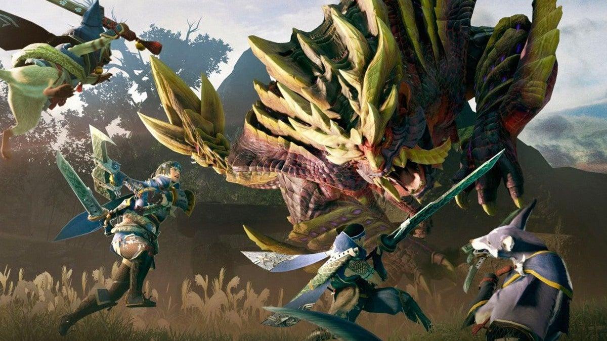 Как восстановить выносливость в Monster Hunter Rise