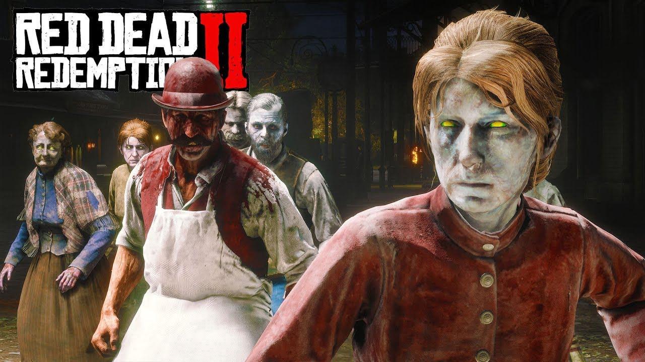 Зомби в Red Dead Online: Где их найти?