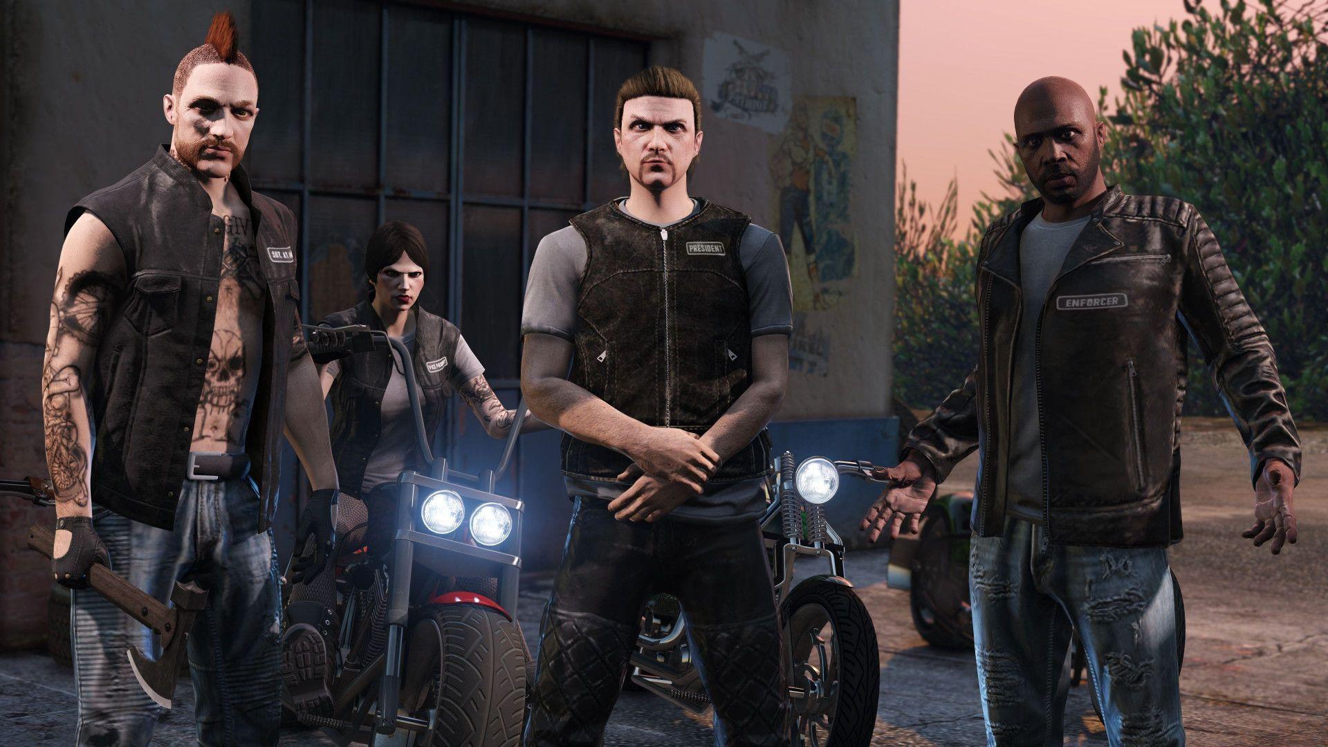 Bikers в GTA Online: Как создать мотоклуб, стать президентом и заработать денег?