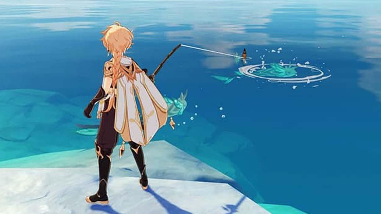 Как ловить рыбу в Genshin Impact и найти все места для рыбалки