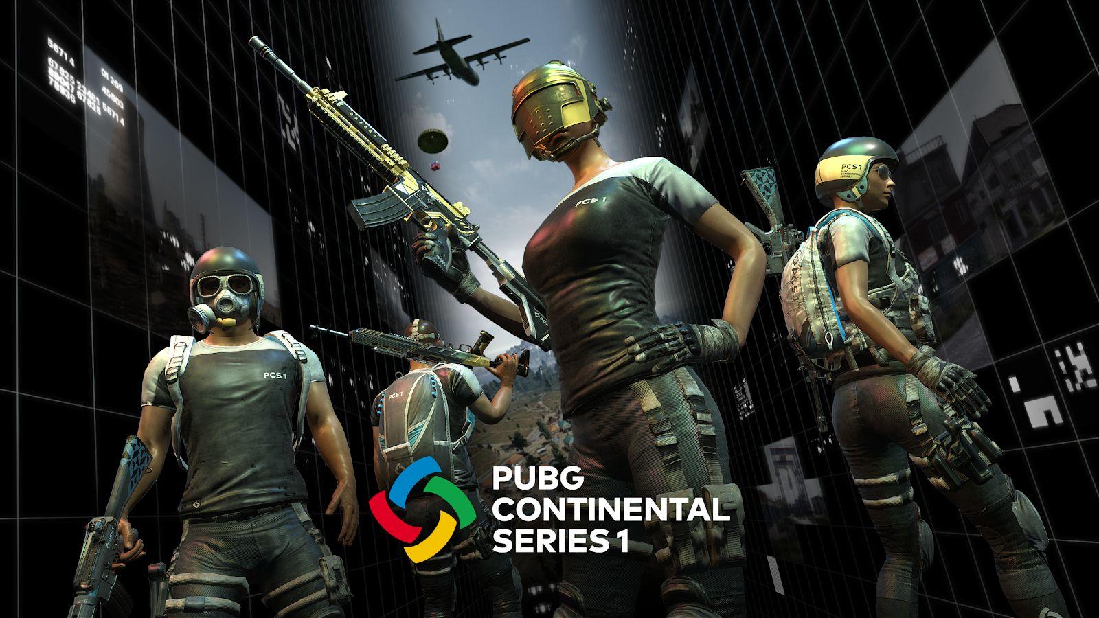 PUBG Esports представляет PCS 1 и PCS 2