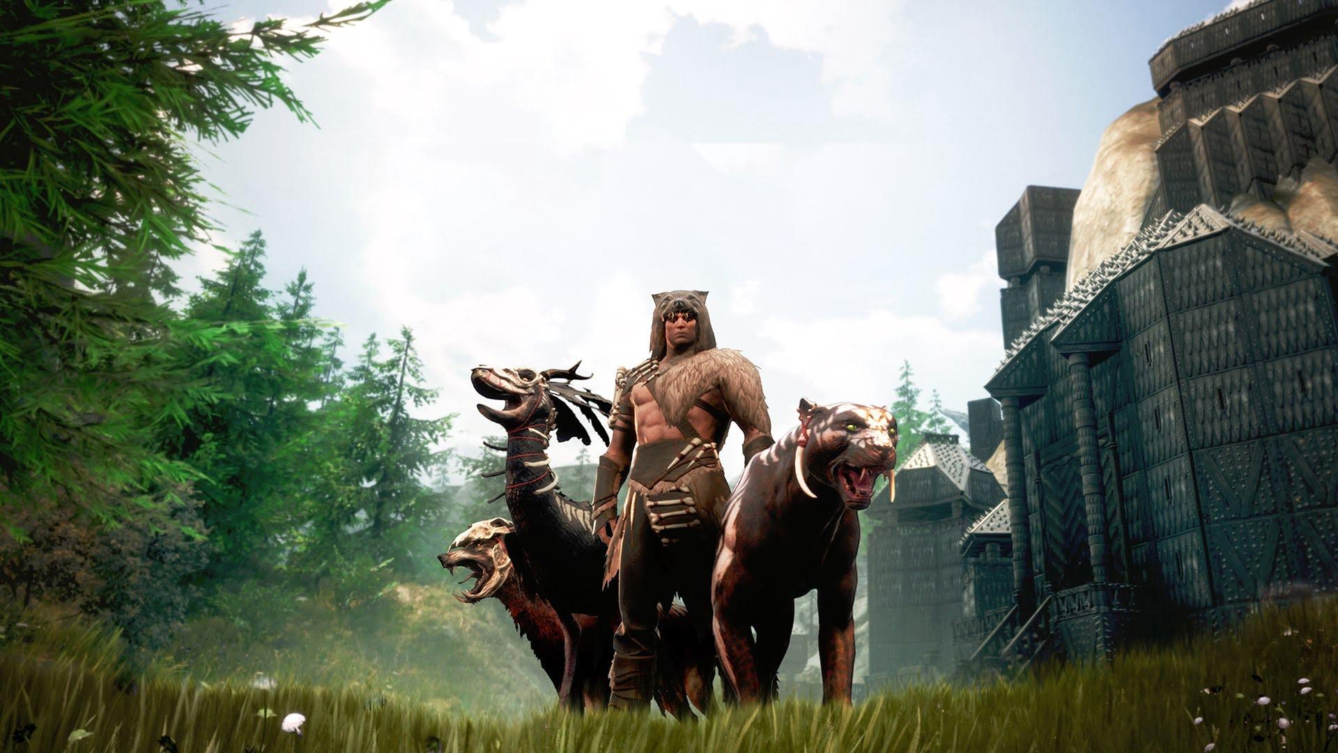 Животноводство в Conan Exiles: Как выращивать зверей?