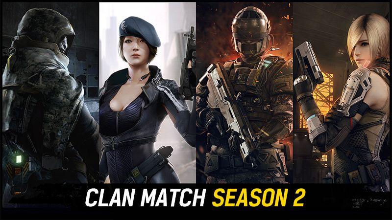 Clan Match Сезон 2