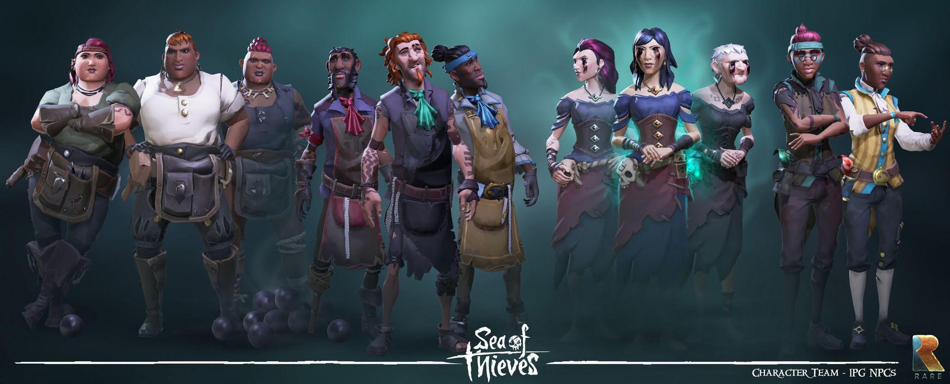 Фракции в Sea of Thieves: Полный гайд