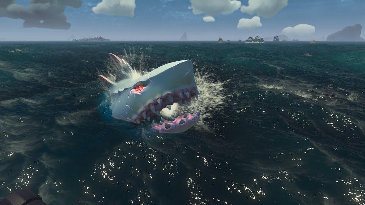 Как найти и поймать Мегалодона в Sea of Thieves