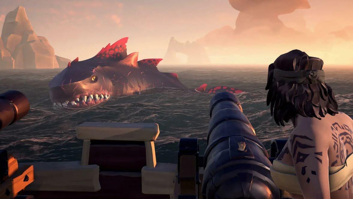 Все существа в Sea of Thieves: Полный гайд по чудовищам и животным