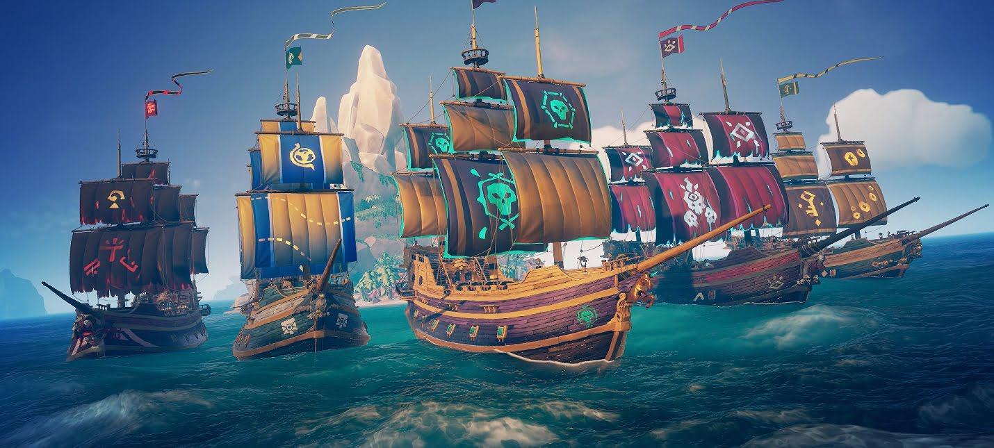 Все корабли в Sea of Thieves: Руководство по кораблям