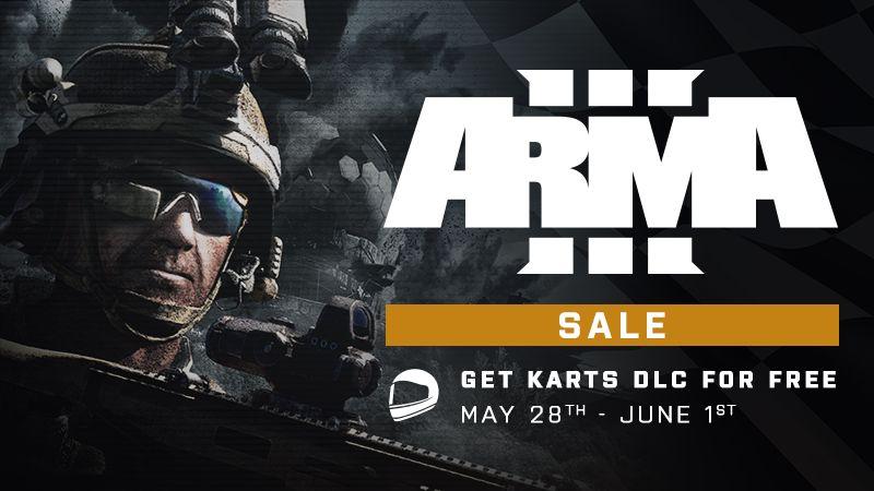 Arma 3 распродажа в Steam и бесплатные карточки DLC (с 28 мая - по 1 июня)