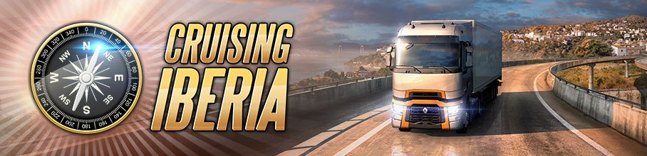 Euro Truck Simulator 2: Событие Cruising Iberia