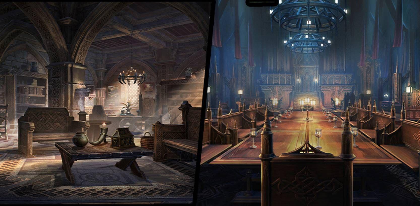В The Elder Scrolls Online: Greymoor начинается конкурс оформления домов.