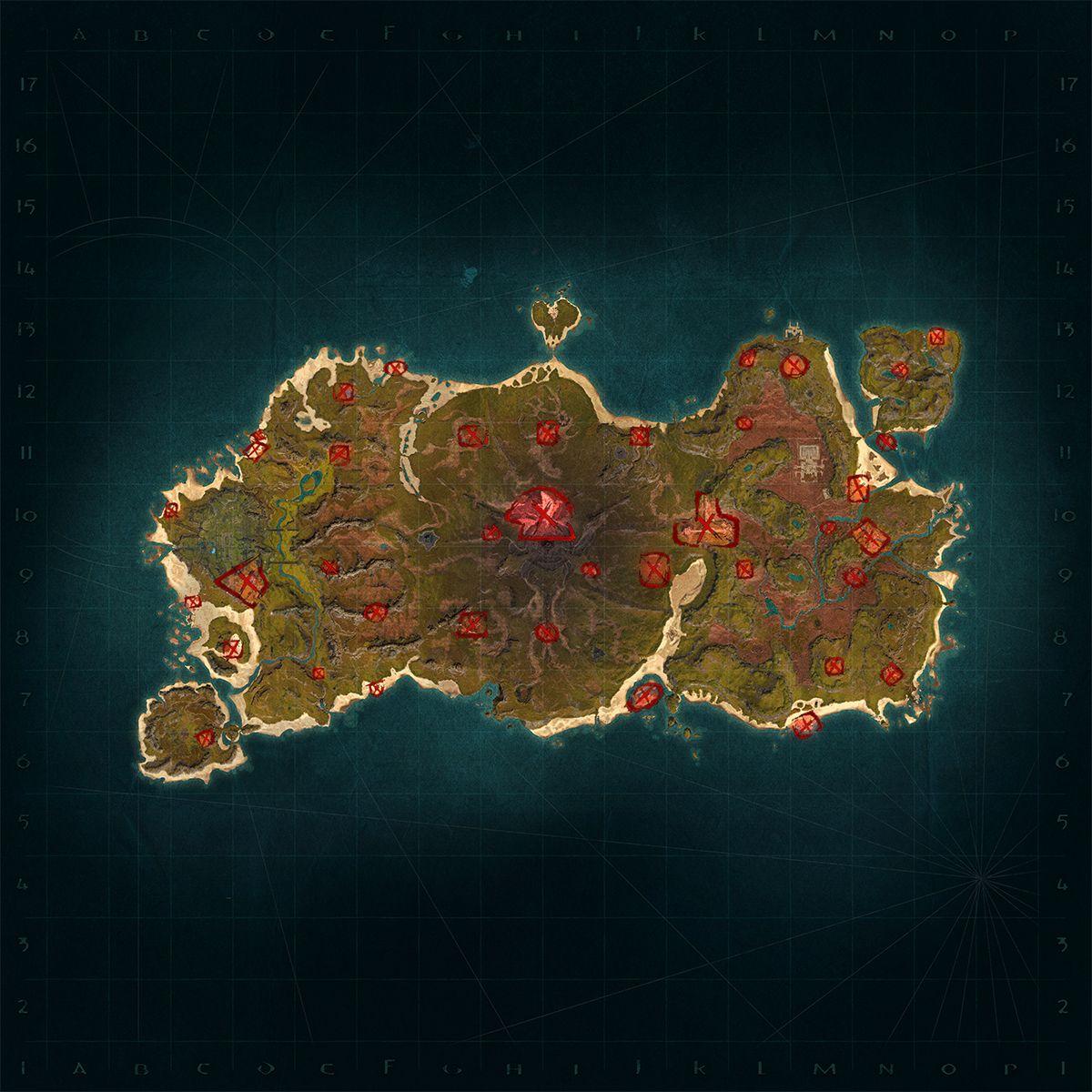 О новых лагерях неигровых персонажей на острове Сиптаха в обновлении 2.3