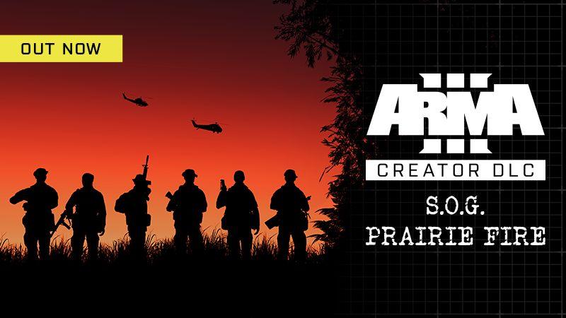 Arma 3 DLC: S.O.G. Prairie Fire совсем скоро!