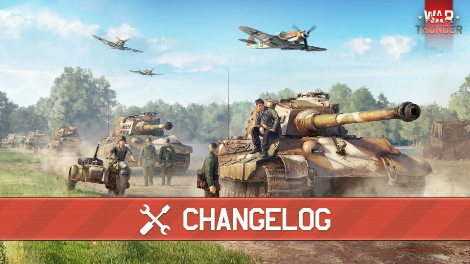 War Thunder - обновление 2.9.0.38