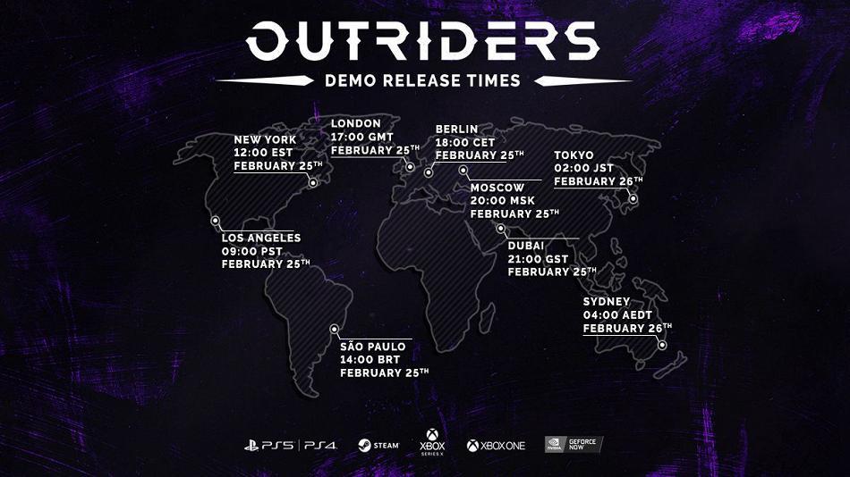 Все, что вам нужно знать о демоверсии Outriders