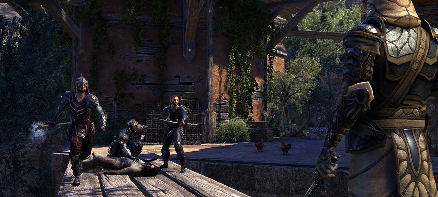 Гильдии в The Elder Scrolls Online: Как вступить?