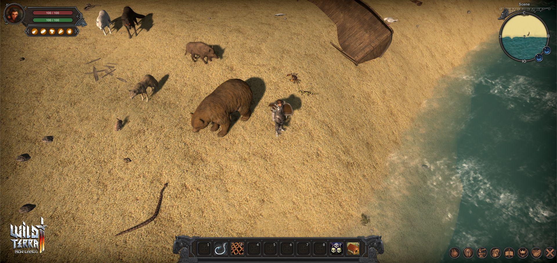 Wild Terra 2: отчет о разработке