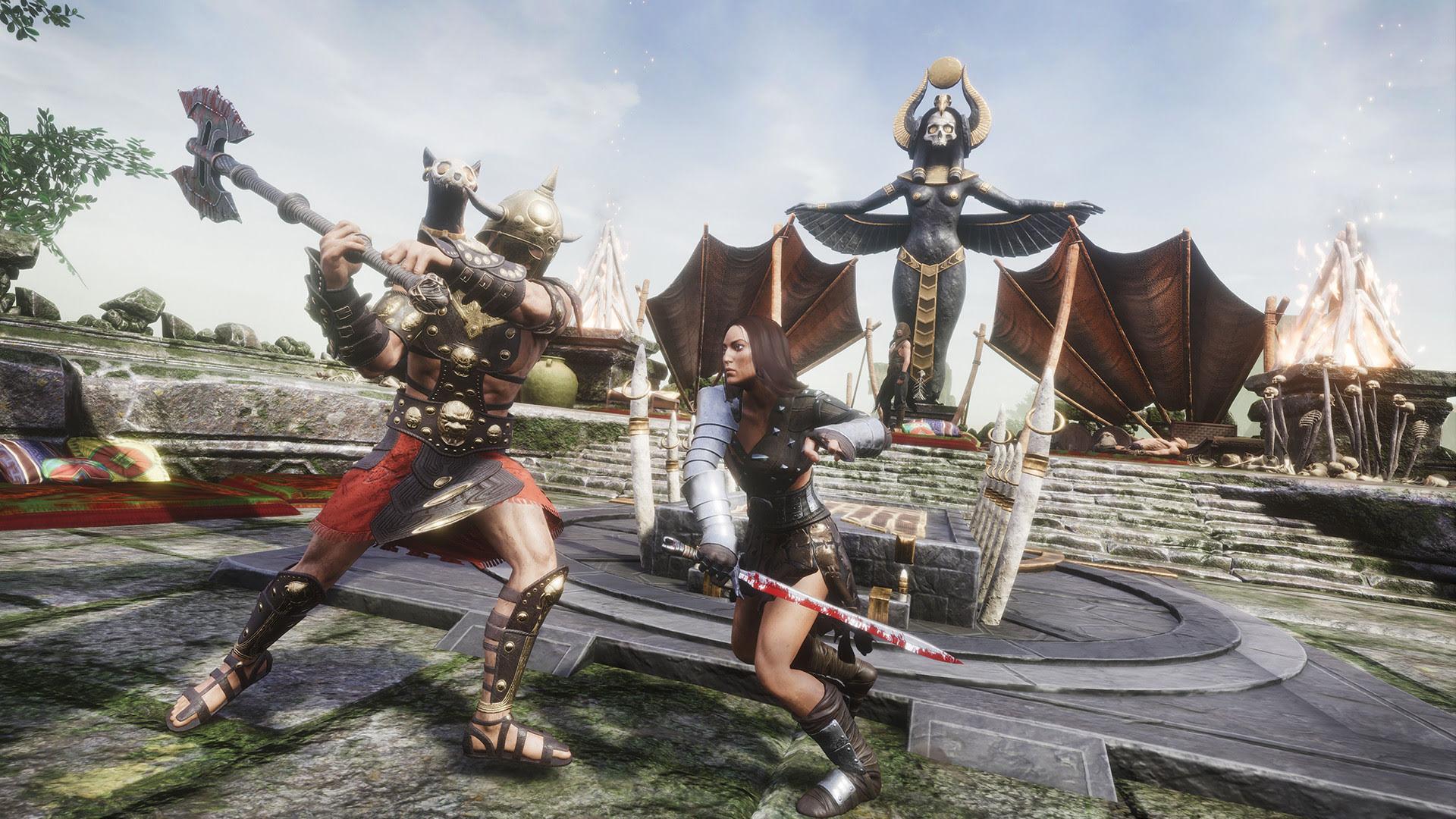 Оружие в Conan Exiles: Двуручные Топоры