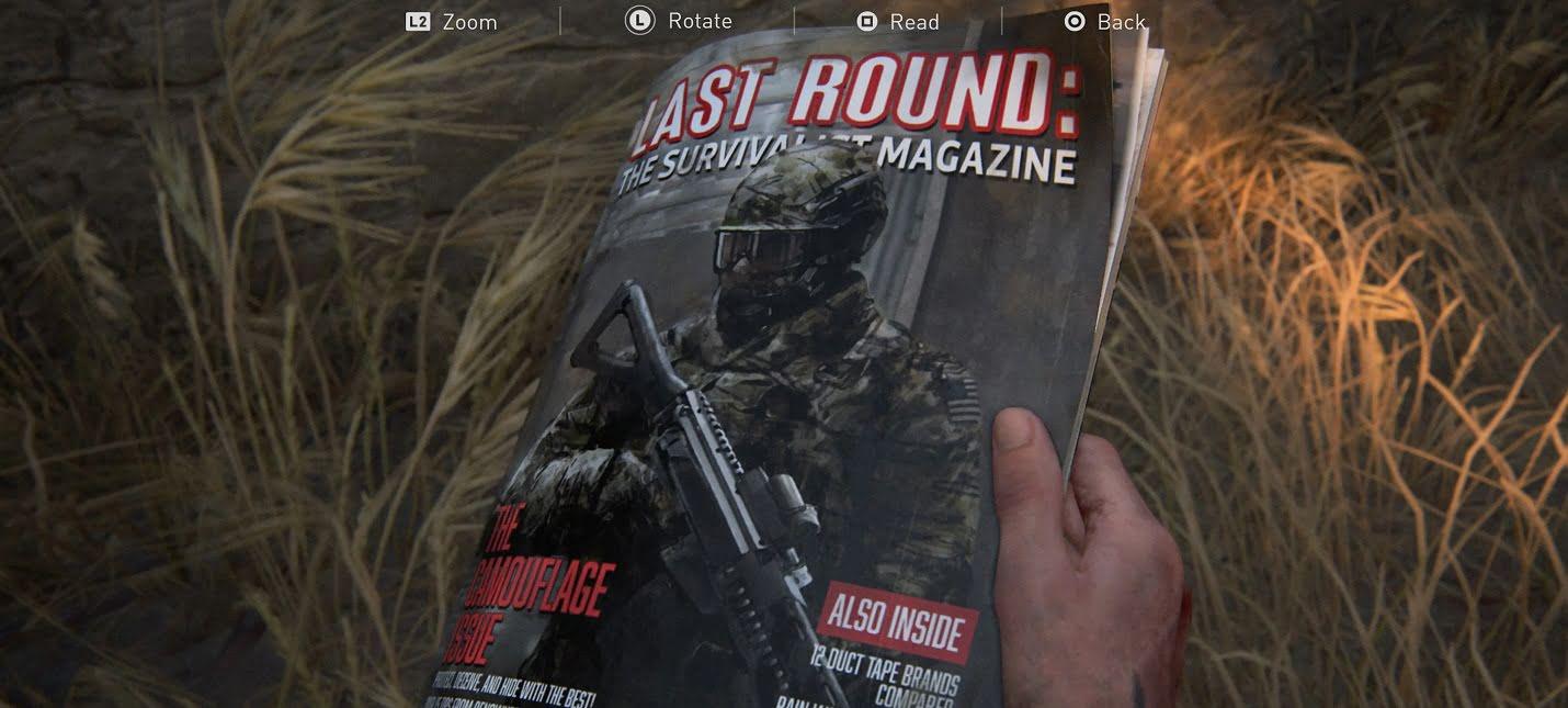 Журналы в The Last of Us 2: Все обучающие руководства