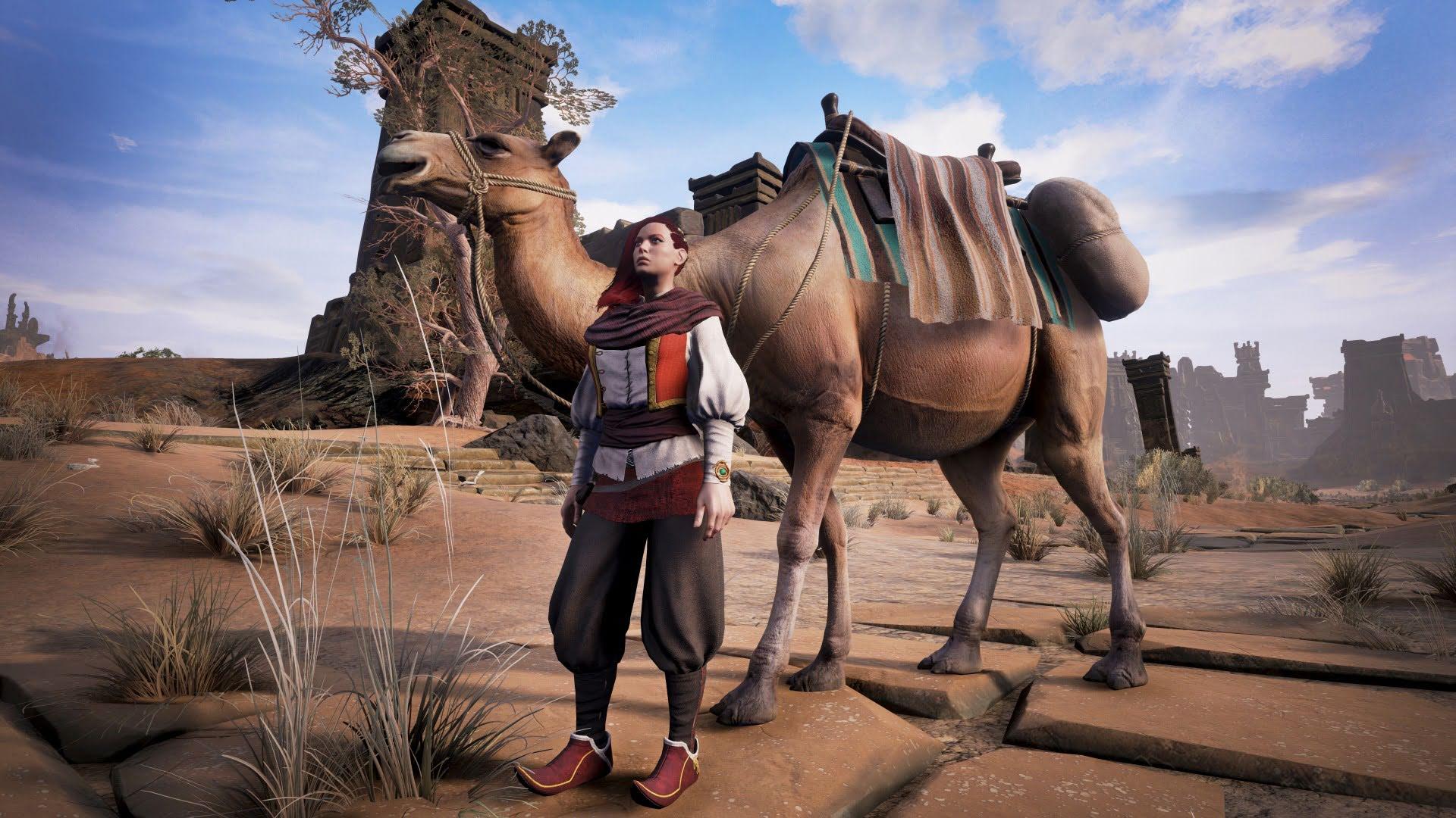 Животноводство в Conan Exiles: Верблюды