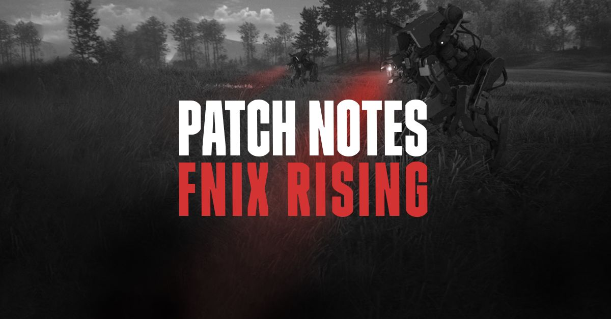 FNIX Rising - Примечания к патчу