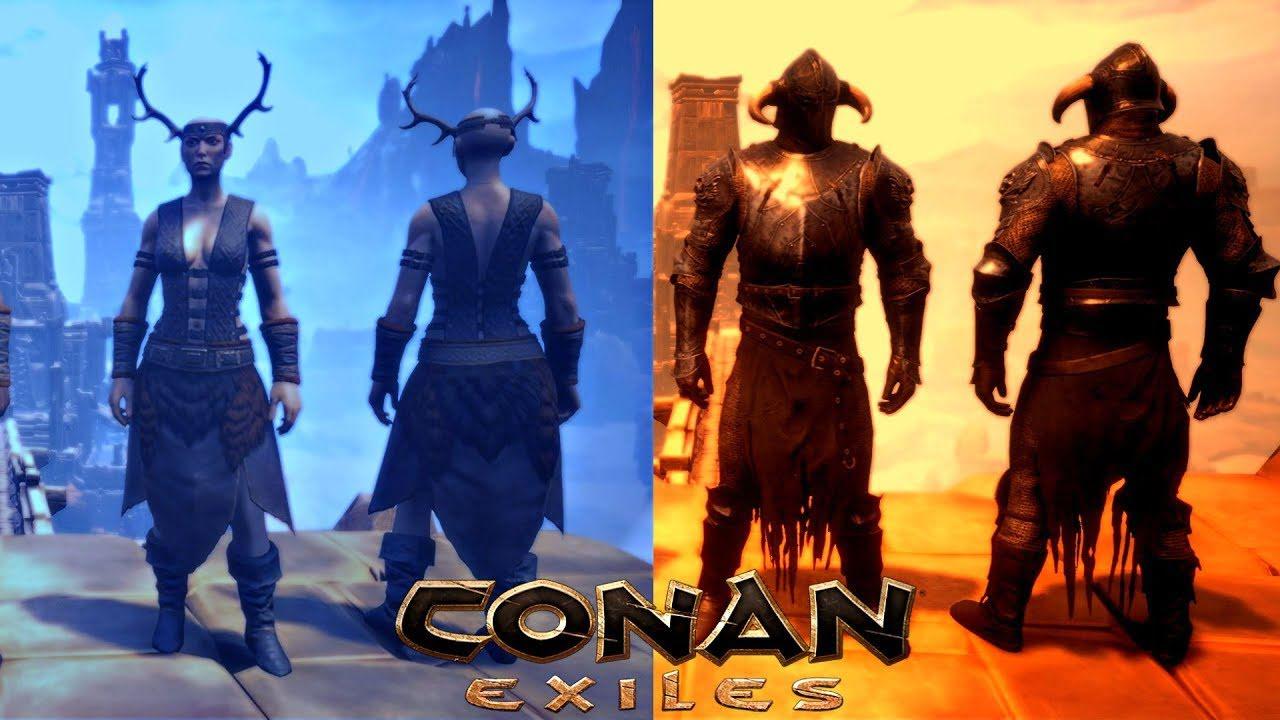 Температура в Conan Exiles: Защита от погодных явлений