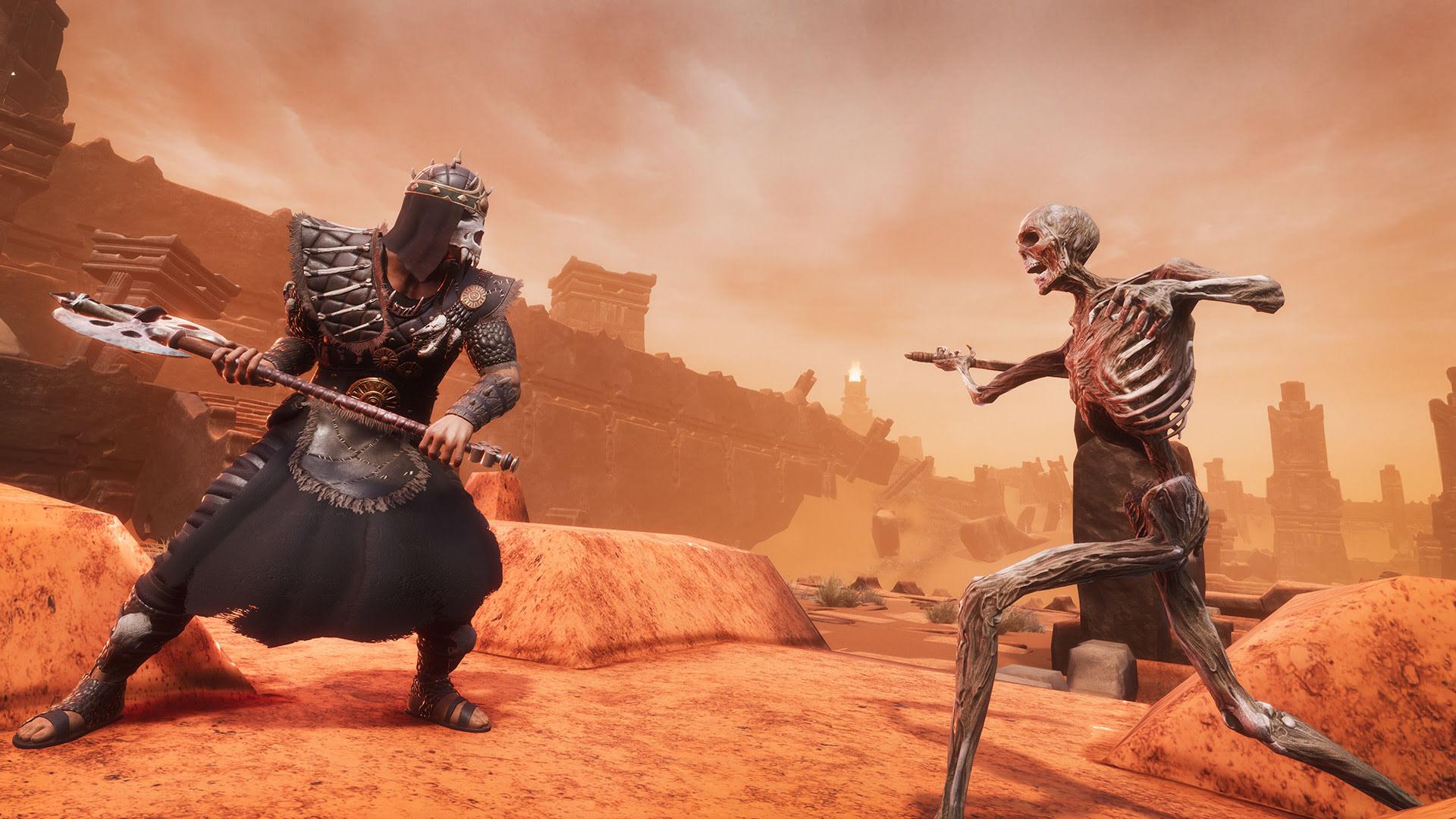 Оружие в Conan Exiles: Одноручные Топоры