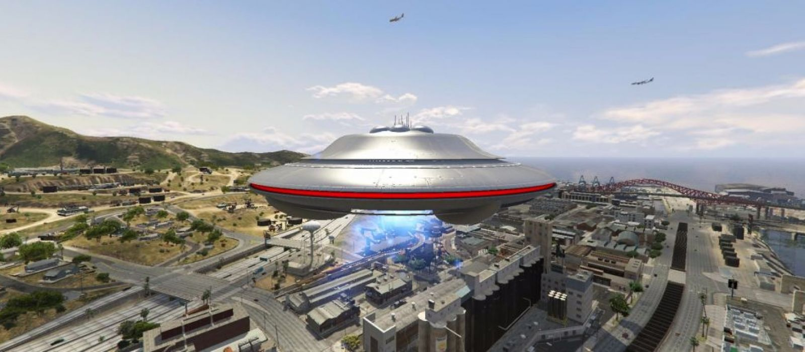 Инопланетный корабль в GTA Online: Секретная миссия
