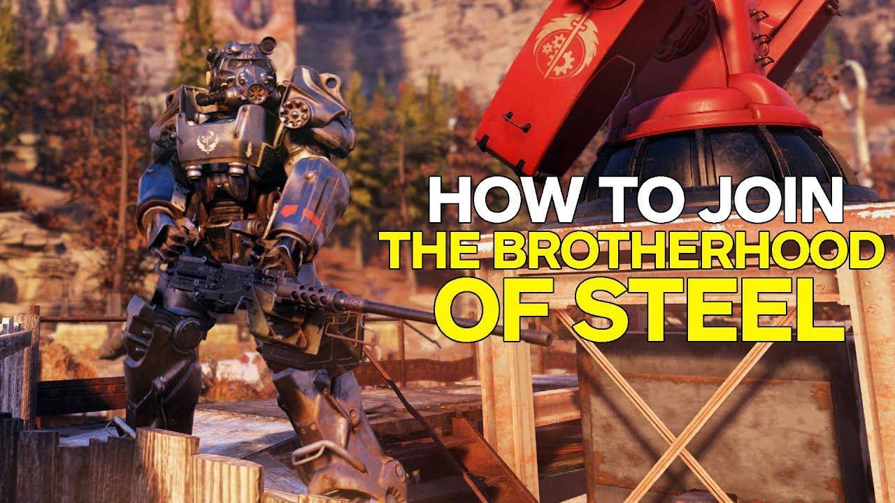Событие в Fallout 76: Укрепление Атлас и Братства Стали